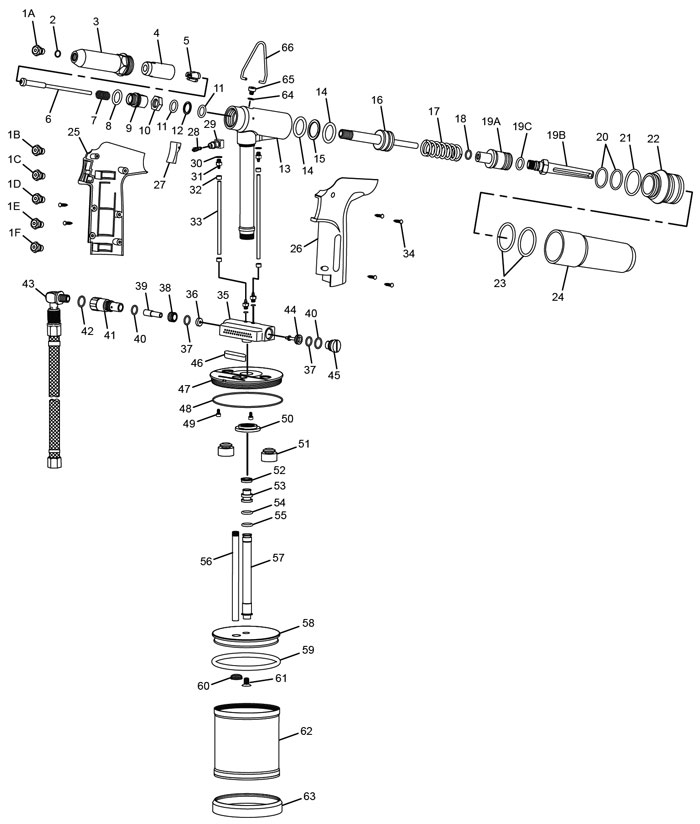 chicago pneumatic cp9884 air riveter repair parts cp9884 air riveter repair parts