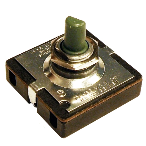 0499000074 4 Position Rotary Switch With Hard Wire Push In
