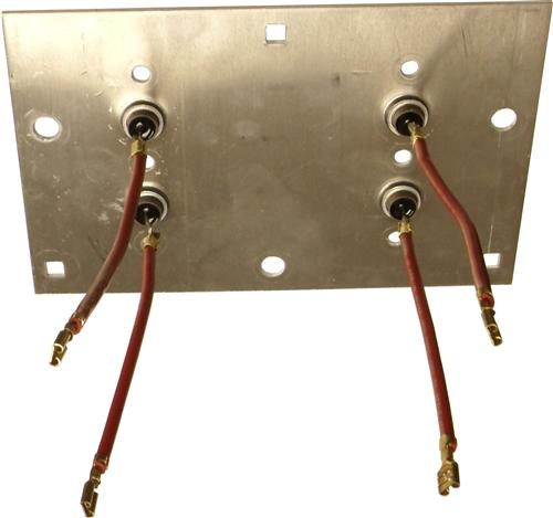 2299001127 Schumacher Heat Sink Rectifier. Two wire ...