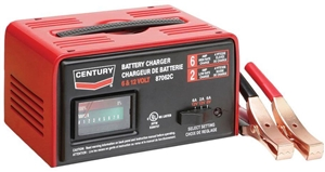 87062c century 6 2 amp 6 12 volt manual automotive battery. Black Bedroom Furniture Sets. Home Design Ideas