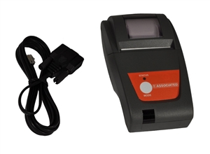 6041 associated high speed thermal printer serial with cable for Century electric motor serial number lookup
