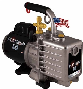 Dv 200n jb industries 7 cfm vacuum pump 2 stage with blank for Motor technology inc dayton ohio