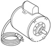 PR-207 JB Industries 1/2 HP 115/230V 50/60 Cycle Motor w/Switch and Line Cord