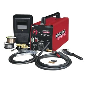 K2278 1 lincoln electric handy core wire feed mig welder for Lincoln welder wire feed motor