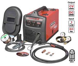 K2698 1 lincoln electric easy mig 180 wire feed mig welder for Lincoln welder wire feed motor