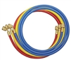 "40396 Mastercool Set Of 3-96"" Hoses W/Standard Fitting"
