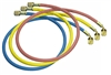 "49336-J Mastercool Set Of 3-90cm R410A Hoses W/1/2""-20 UNF Fittings (Japanese Standard)"