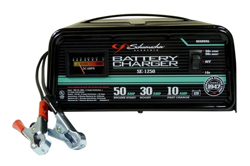 Schumacher Battery Charger Manual >> 50/30/10 Amp 12 Volt Manual Battery Charger / Engine ...