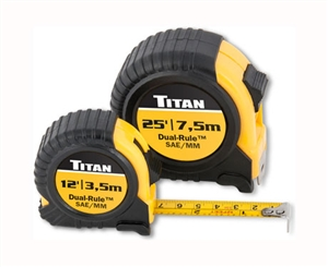 10903 titan 2 pc combo dual rule tape measure set for Motor technology inc dayton ohio