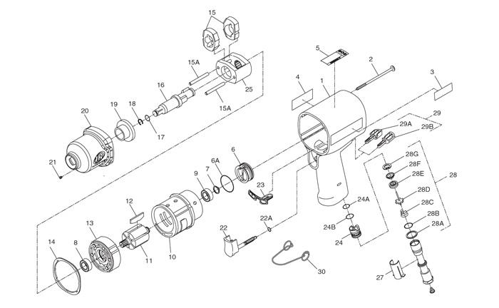 ingersoll rand model 2545 parts manual