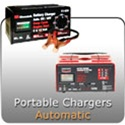 Portable Bench Top Automotive 6 and 12 volt Battery Chargers