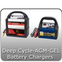 Marine, Deep Cycle, AGM, GEL Battery Chargers