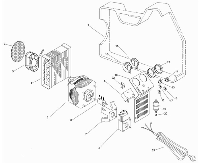 promax recovery machine parts