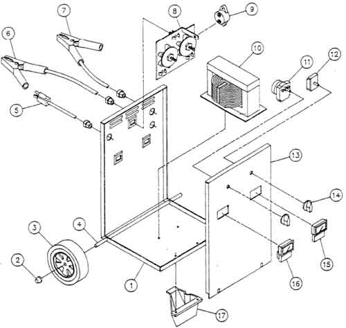 Printable Coloring Pages Trackid=sp 006 : Century amp fleet battery charger