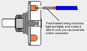 049900074wire 0499000074 4 position rotary switch with hard wire push in connections exide battery charger 70-100 wiring diagram at readyjetset.co