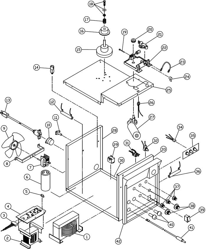 117 059 Wfw140 Matco 140 Amp Mig Welder Phase Control