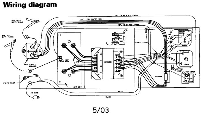 200.71460diag 71460 sears 60 20 2 250 125 amp manual battery charger wiring diagram for battery charger at fashall.co