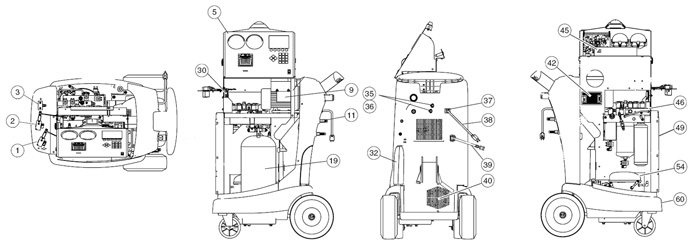 34988 2 robinair 34988 r 134a recovery recycling unit parts robinair 34788 wiring diagram at reclaimingppi.co