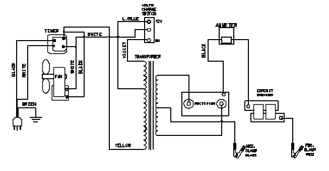 on ociated battery charger schematics diagram