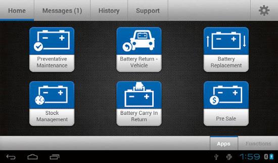 DSS-7000-KIT Midtronics Battery Diagnostic Service System