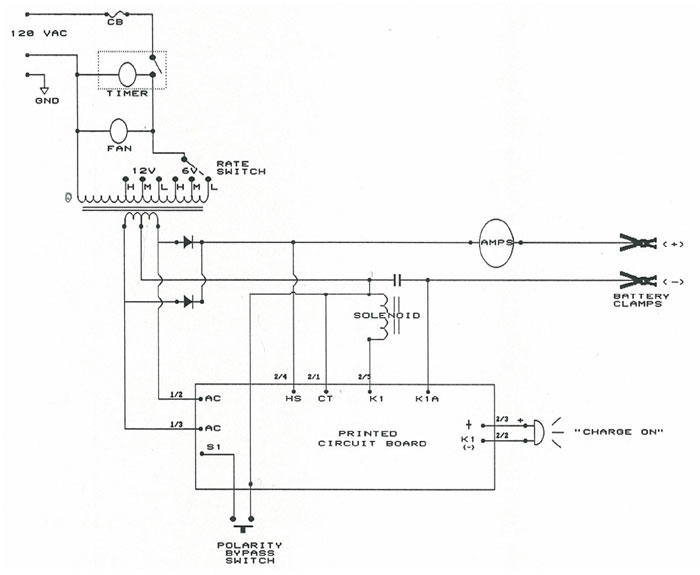 70 Charger Wiring Diagram