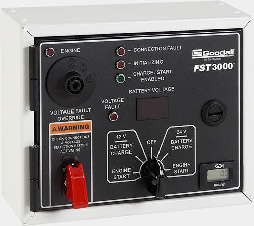 CAP-START®3000+AIR Vanair Super Capacitor 12/24V 3000 Amp 24CFM Jump Starter