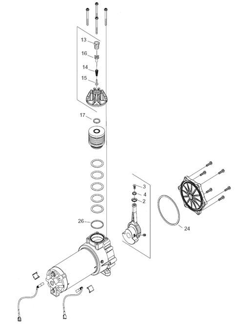 emrt-650615 inficon model 500car75 compressor service kit