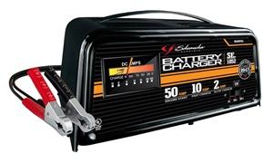 50 10 2 amp 12 volt manual automotive battery charger. Black Bedroom Furniture Sets. Home Design Ideas