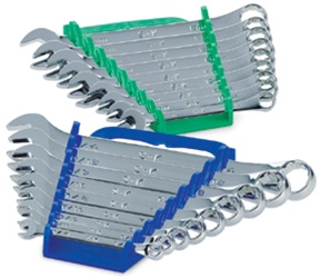 87018 SK Tools 18 Piece Superkrome Fractional Metric Combination Wrench Set