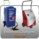 Wheeled Automotive 6 and 12 volt Battery Chargers