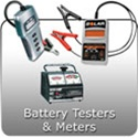 Automotive Battery Testers, Analyzers and performance meters