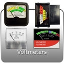 Battery Charger Voltmeters